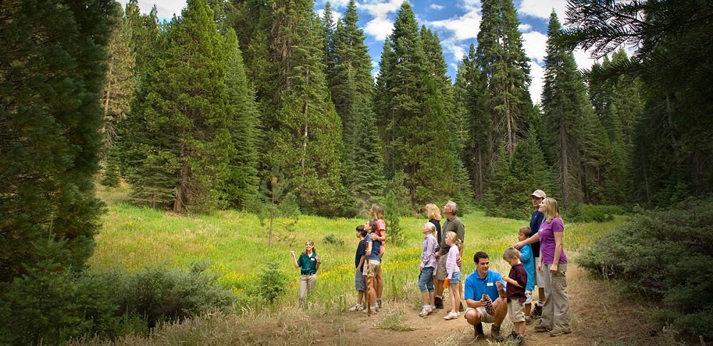 Tenaya Lodge guided hiking tour