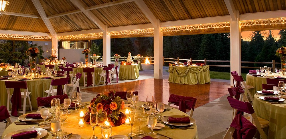 Tenaya Lodge Wedding Reception